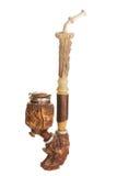 Vecchio tubo di legno Fotografia Stock Libera da Diritti