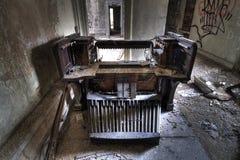 vecchio tubo di organo Fotografia Stock Libera da Diritti