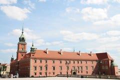 Vecchio Twown a Varsavia immagine stock
