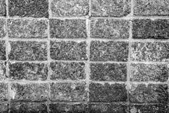 Vecchio uso del muro di mattoni come fondo Fotografie Stock