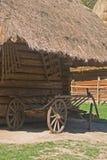 Vecchio vagone Fotografie Stock Libere da Diritti