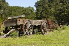 Vecchio vagone Immagine Stock Libera da Diritti