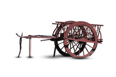 Vecchio vagone Immagini Stock Libere da Diritti