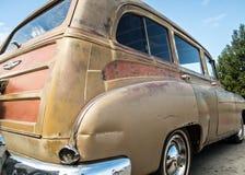 Vecchio vagone arrugginito di Chevy Immagini Stock