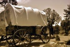 Vecchio vagone coperto Immagini Stock Libere da Diritti