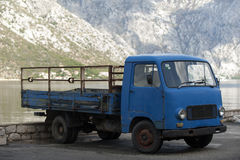 Vecchio vagone della fase Fotografia Stock Libera da Diritti