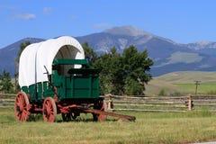 Vecchio vagone di mandrino di modo Immagini Stock