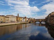 Vecchio van IL ponte Florence Royalty-vrije Stock Afbeelding