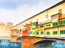 Vecchio van Ponte Royalty-vrije Stock Fotografie