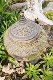 Vecchio vaso di argilla d'annata Fotografie Stock Libere da Diritti