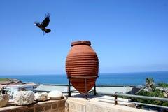 Vecchio vaso Jaffo, Tel Aviv, Israele Fotografia Stock