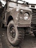 Vecchio veicolo 4WD Fotografia Stock Libera da Diritti