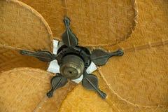 Vecchio ventilatore di soffitto Fotografia Stock