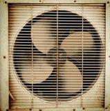 Vecchio ventilatore sporco fotografia stock libera da diritti