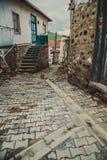 Vecchio vicolo a Ankara Fotografia Stock