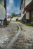 Vecchio vicolo a Ankara Fotografie Stock