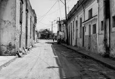 Vecchio vicolo della città Fotografia Stock