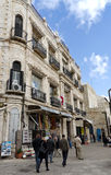 Vecchio vicolo della città di Gerusalemme Fotografia Stock
