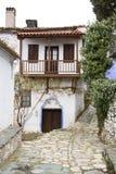 Vecchio vicolo greco Fotografie Stock
