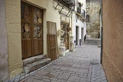Vecchio vicolo nella citt Fotografie Stock
