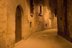 Vecchio vicolo spagnolo fotografia stock