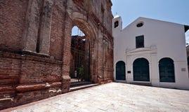 Vecchio viejo Panama di Casco della chiesa Fotografia Stock