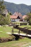 Vecchio villaggio Fotografie Stock Libere da Diritti