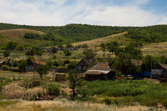 Vecchio villaggio Fotografia Stock