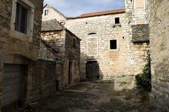 Vecchio villaggio Immagini Stock