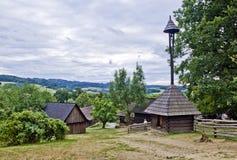 Vecchio villaggio ceco Immagini Stock Libere da Diritti