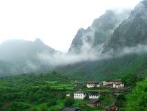 Vecchio villaggio in Cina Fotografie Stock