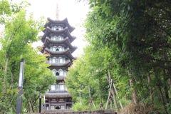 Vecchio villaggio cinese Immagini Stock