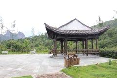 Vecchio villaggio cinese Fotografia Stock