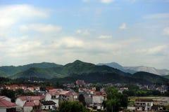 Vecchio villaggio dell'agricoltore Immagine Stock