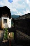 Vecchio villaggio dell'agricoltore Immagini Stock