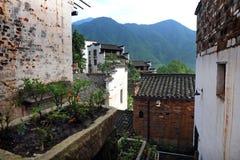 Vecchio villaggio dell'agricoltore Immagine Stock Libera da Diritti