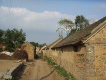 Vecchio villaggio dentro ad est della Cina Immagini Stock Libere da Diritti