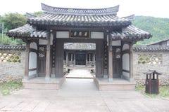 Vecchio villaggio di Chines Fotografia Stock Libera da Diritti