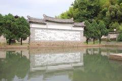 Vecchio villaggio di Chines Immagini Stock Libere da Diritti