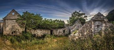 Vecchio villaggio di pietra immagine stock libera da diritti