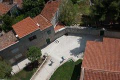 Vecchio villaggio di pietra Immagini Stock Libere da Diritti