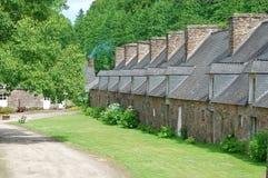 Vecchio villaggio, Francia Fotografia Stock Libera da Diritti