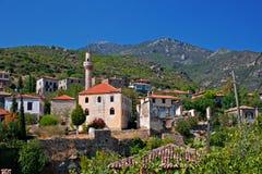 Vecchio villaggio greco/turco di Doganbey, Turchia 4 Fotografia Stock