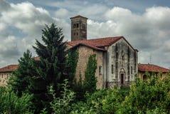 Vecchio villaggio italiano Immagini Stock Libere da Diritti