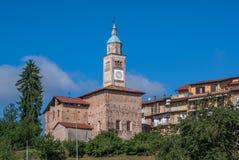 Vecchio villaggio italiano Immagine Stock Libera da Diritti