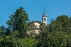 Vecchio villaggio italiano Immagini Stock
