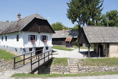 Vecchio villaggio Kumrovec Fotografia Stock