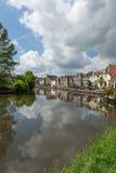 Vecchio villaggio olandese Maarssen Fotografia Stock