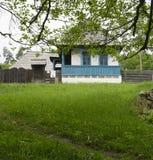 Vecchio villaggio Romania Fotografia Stock