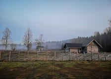 Vecchio villaggio russo fotografia stock libera da diritti